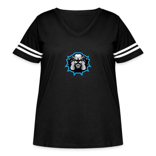 Exodus Stamp - Women's Curvy Vintage Sport T-Shirt