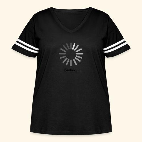 poster 1 loading - Women's Curvy Vintage Sport T-Shirt