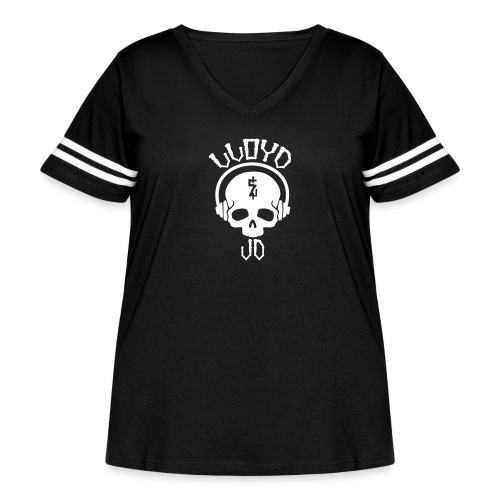 Lloyd JD Logo - Women's Curvy Vintage Sport T-Shirt