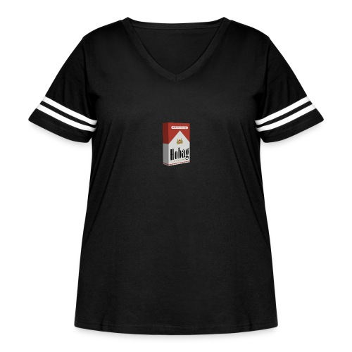 M4RLBORO Hobag Pack - Women's Curvy Vintage Sport T-Shirt