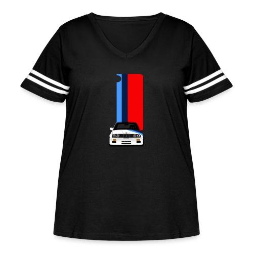 iPhone M3 case - Women's Curvy Vintage Sport T-Shirt