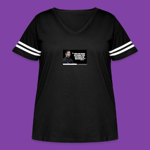 255777-Cristiano-ronaldo------quote-w - Women's Curvy Vintage Sport T-Shirt