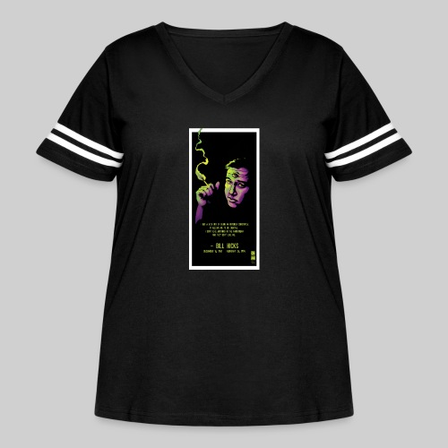Bill Hicks - Women's Curvy Vintage Sport T-Shirt