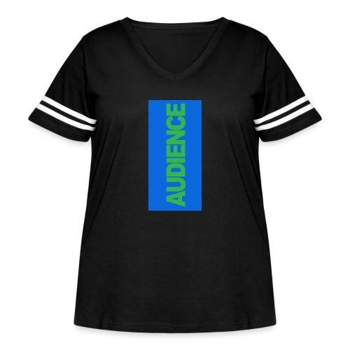 audiencegreen5 - Women's Curvy Vintage Sport T-Shirt