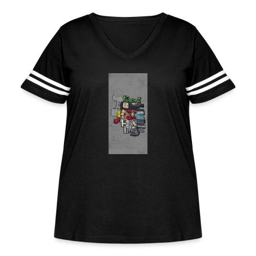 sparkleziphone5 - Women's Curvy Vintage Sport T-Shirt
