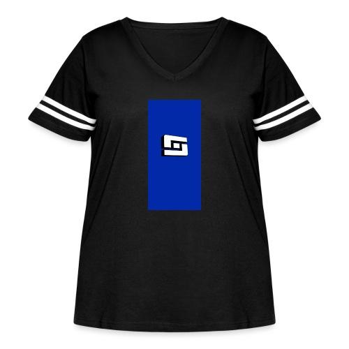 whites i5 - Women's Curvy Vintage Sport T-Shirt