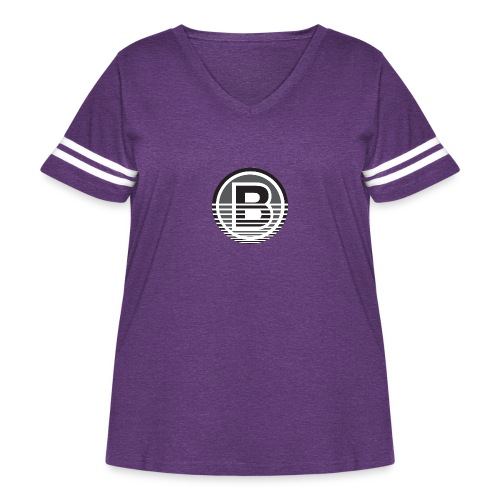 Backloggery/How to Beat - Women's Curvy Vintage Sport T-Shirt