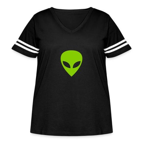 Alien - Women's Curvy Vintage Sport T-Shirt