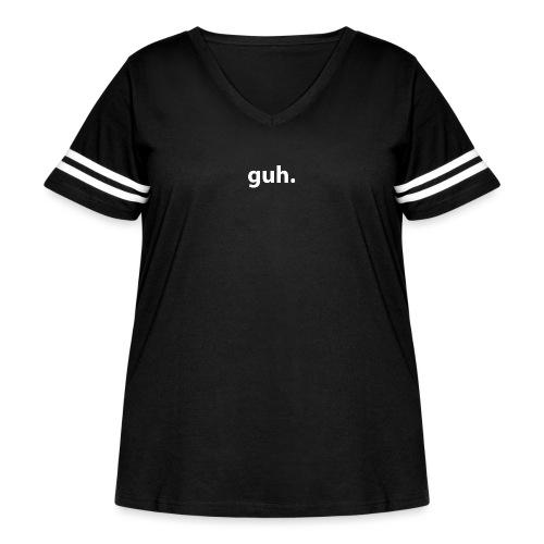 guh. - Women's Curvy Vintage Sport T-Shirt