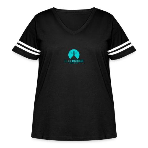 Blue Bridge - Women's Curvy Vintage Sport T-Shirt
