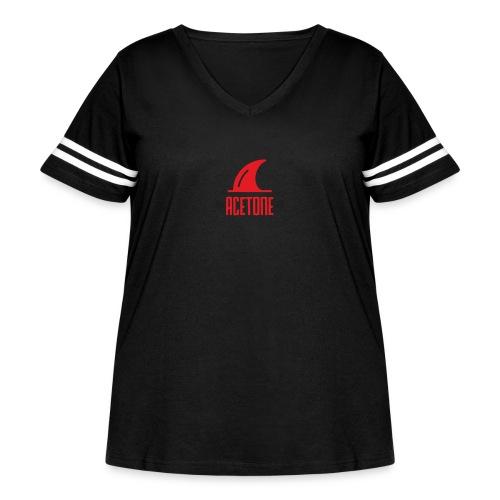 ALTERNATE_LOGO - Women's Curvy Vintage Sport T-Shirt