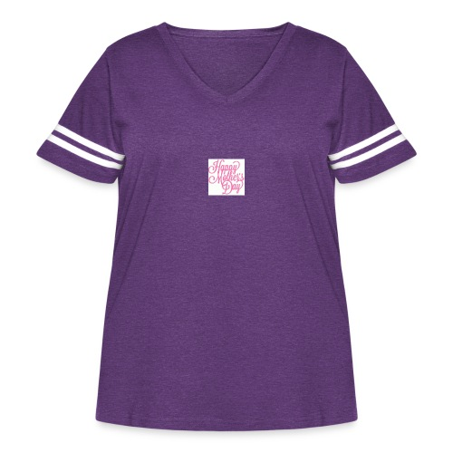 mothers day - Women's Curvy Vintage Sport T-Shirt