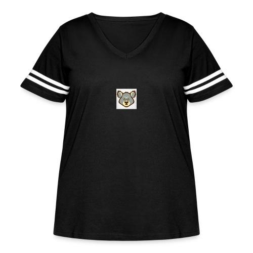 IMG 1450 - Women's Curvy Vintage Sport T-Shirt