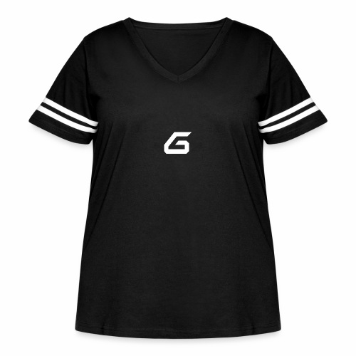 The New Era M/V Sweatshirt Logo - White - Women's Curvy Vintage Sport T-Shirt