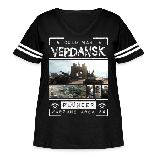 Verdansk Plunder - Women's Curvy Vintage Sport T-Shirt