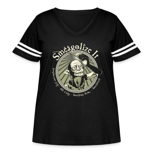 Smeagolize It! - Women's Curvy Vintage Sport T-Shirt