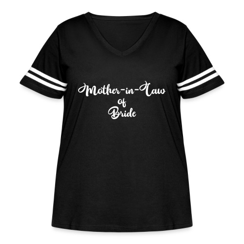 motherinlawofbride - Women's Curvy Vintage Sport T-Shirt