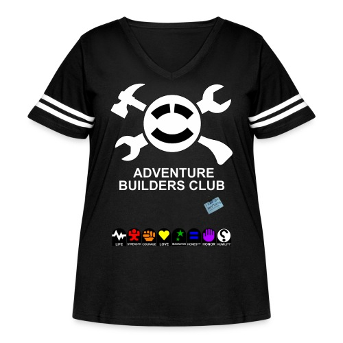 Adventure Builders Club - Women's Curvy Vintage Sport T-Shirt