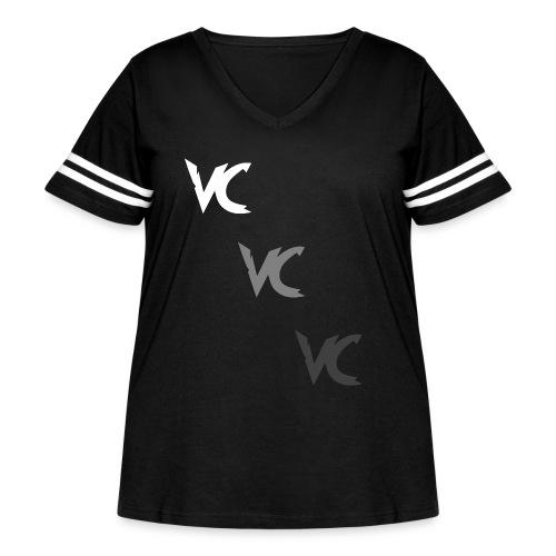 V3L0C1TY Logo Mugs & Drinkware - Women's Curvy Vintage Sport T-Shirt