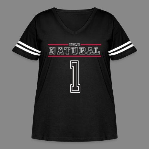 Team Natural 1 - Women's Curvy Vintage Sport T-Shirt