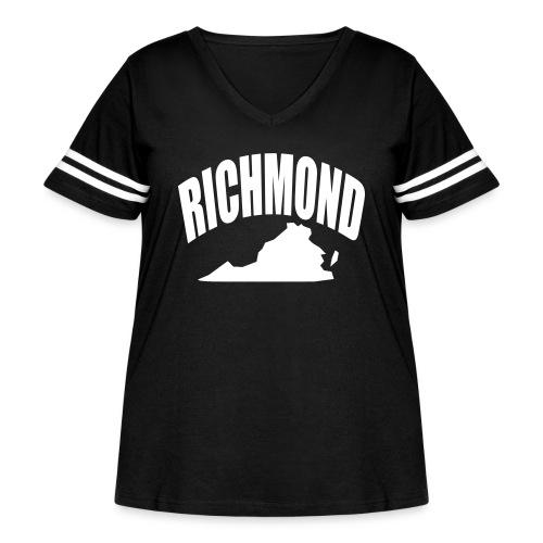 RICHMOND - Women's Curvy Vintage Sport T-Shirt