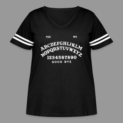 Talking Board - Women's Curvy Vintage Sport T-Shirt
