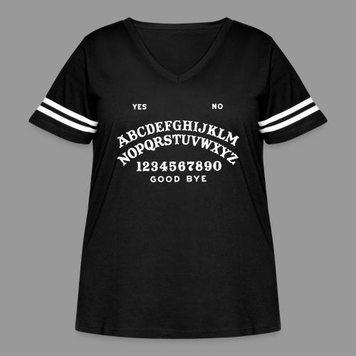Talking Board - Women's Curvy Vintage Sport T-Shirt