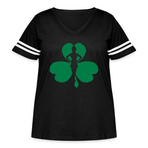 ceili dancer - Women's Curvy Vintage Sport T-Shirt