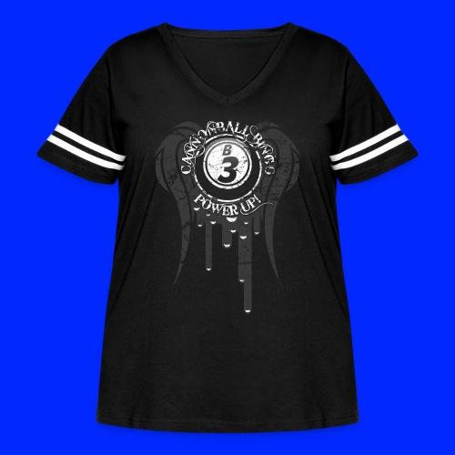 180503 CBBNewTee3 - Women's Curvy Vintage Sport T-Shirt
