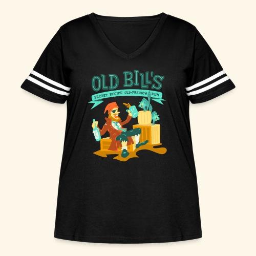 Old Bill's - Women's Curvy Vintage Sport T-Shirt
