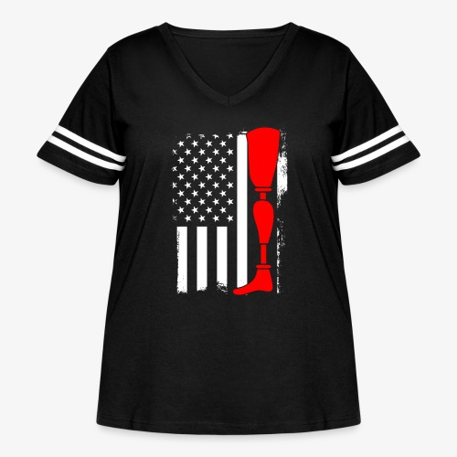 Equality for People with Disabilities - Women's Curvy Vintage Sport T-Shirt