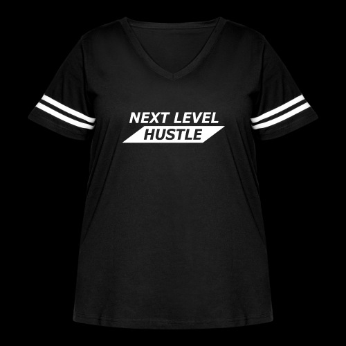 NEXT LEVEL HUSTLE - Women's Curvy Vintage Sport T-Shirt