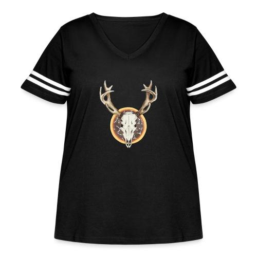 Death Dearest - Women's Curvy Vintage Sport T-Shirt