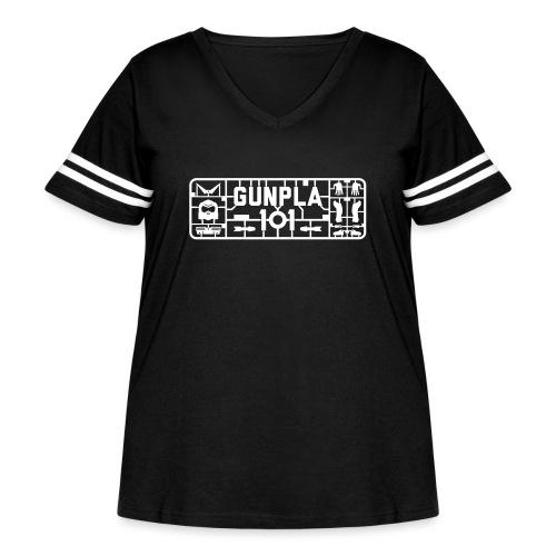 Gunpla 101 Men's T-shirt — Zeta Blue - Women's Curvy Vintage Sport T-Shirt