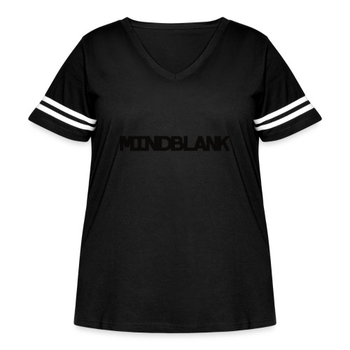 Mind Blank Sports - Women's Curvy Vintage Sport T-Shirt
