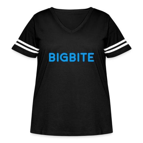 Toddler BIGBITE Logo Tee - Women's Curvy Vintage Sport T-Shirt
