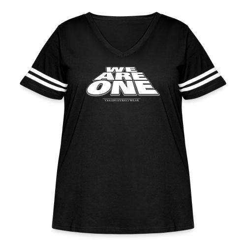 We are One 2 - Women's Curvy Vintage Sport T-Shirt
