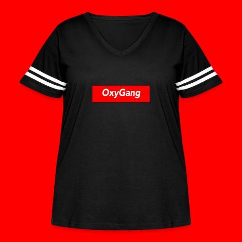 OxyGang: Red Box Products - Women's Curvy Vintage Sport T-Shirt