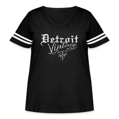 Detroit Vintage - Women's Curvy Vintage Sport T-Shirt