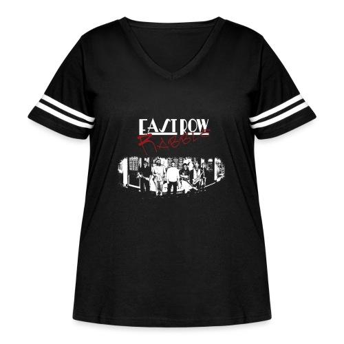 Phoenix Front - Women's Curvy Vintage Sport T-Shirt