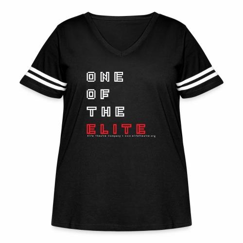 8bit of the Elite - Women's Curvy Vintage Sport T-Shirt