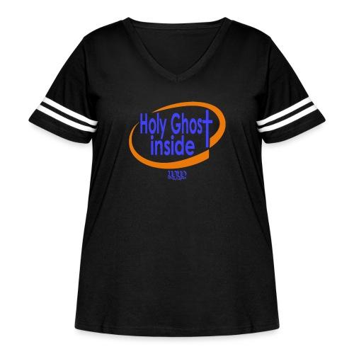 ***12% Rebate - See details!*** Holy Ghost Inside - Women's Curvy Vintage Sport T-Shirt