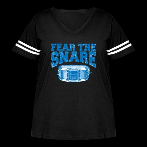 FEAR THE SNARE - Women's Curvy Vintage Sport T-Shirt