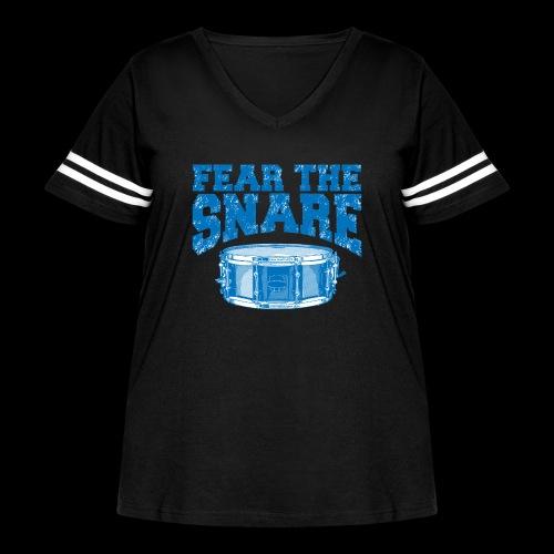 FEAR THE SNARE - Women's Curvy Vintage Sport T-Shirt