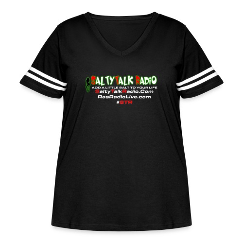 str back png - Women's Curvy Vintage Sport T-Shirt