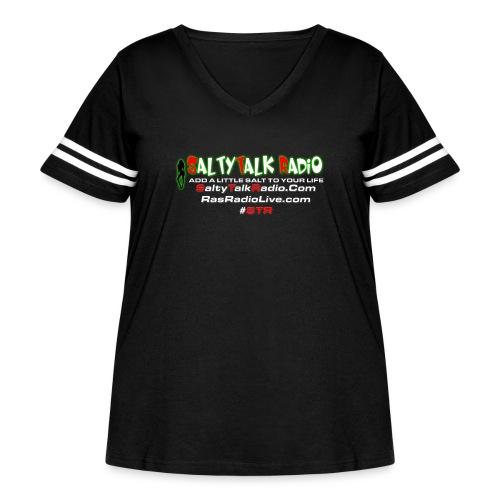 str back png - Women's Curvy Vintage Sports T-Shirt