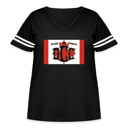 OCC Canada - Women's Curvy Vintage Sport T-Shirt