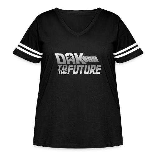 Dak To The Future - Women's Curvy Vintage Sport T-Shirt