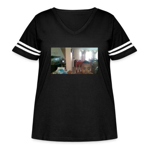 WIN 20160225 08 10 32 Pro - Women's Curvy Vintage Sport T-Shirt
