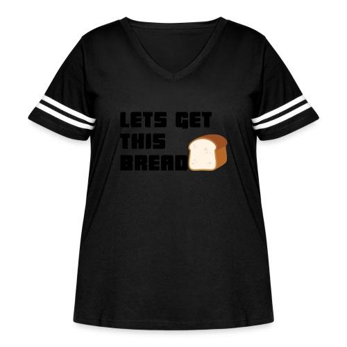 BREAD - Women's Curvy Vintage Sport T-Shirt